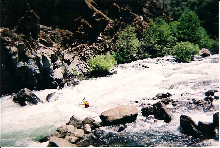 Middle Fork of the American River (Tunnel Chute)